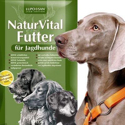 AKAH NaturVital® Futter für Jagdhunde Menge: 5 Kilogramm
