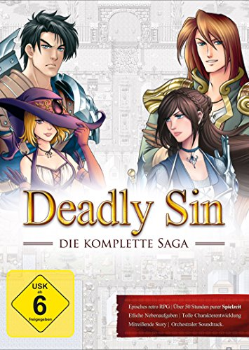 Deadly Sin - Die Komplette Saga (PC) (Rpg-maker Spiel)