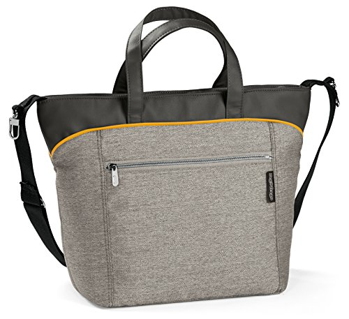 Preisvergleich Produktbild Peg Perego YBORX2LGRE Wickeltasche Borsa, Luxe Grey