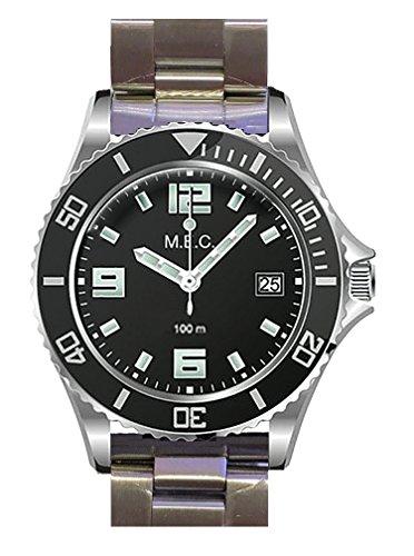 relojes hombre deportivos militares buceo quarzo acero inoxidable nuevo garantía
