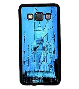Printvisa 2D Printed Taj Mahal Designer back case cover for Samsung Galaxy A3 A300F- D4505