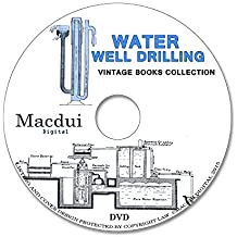 Water Well Drilling – Vintage E-books 21 PDF on 1 DVD Irrigation,Purrification, Old books on disc