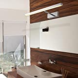 ZUIZU Led Bathroom Mirror Front Light Modern Simple Stainless Steel Retractable Stepless Dimming (With 86 Boxes Of Dimmer)