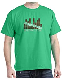 CafePress - Equalizer Dive Flag Dark T-Shirt - 100% Cotton T-Shirt