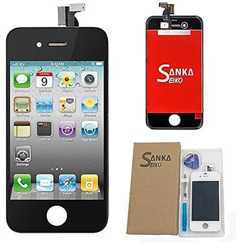 iPhone 4 Pantalla LCD y digitalizador de repuesto para AT&T GSM,color negro