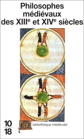 Philosophes médiévaux des XIIIe et XIVe siècles