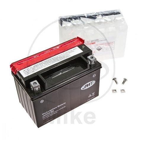 JMT Maintenance Free Battery YTX9-BS Fits Kawasaki ZX-9R 900 C Ninja 1999