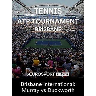 ATP Tennis: Murray v Duckworth - Brisbane International: Murray vs Duckworth