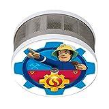 Smartwares FSM-16400 Rauchmelder Feuerwehrmann Sam für Das Kinderzimmer/Mini 10 Jahres-Rauchwarnmelder/Maße Nur 75 x 35 mm/VDs und Q-Zertifiziert
