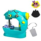 Machine à coudre de jouet miniature mini électrique portative multifonctionnelle de ménage pour des enfants