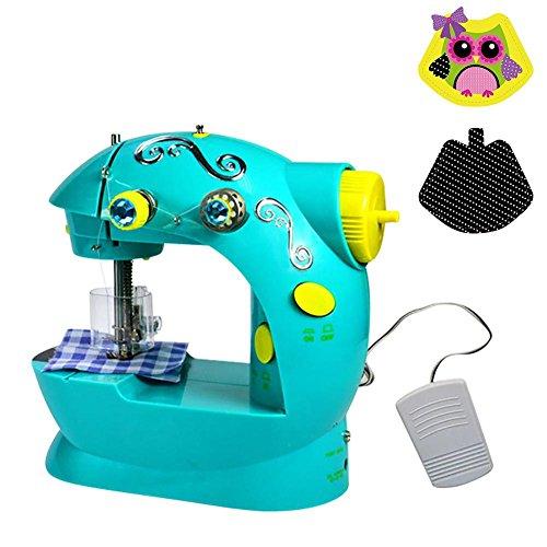 Per Juguetes de Máquina para Coser Mini Infantiles Kit de Juegos de Manualidad de Costura Juguetes Educativos de Entretenimiento