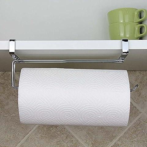 Edelstahl Küche Papier Kleiderbügel unter Schrank Rolle Handtuchhalter Tissue Aufhänger
