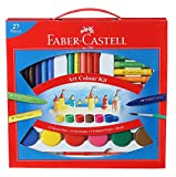 #9: Faber-Castell Art Color Kit with Paint Brush(Multicolor)