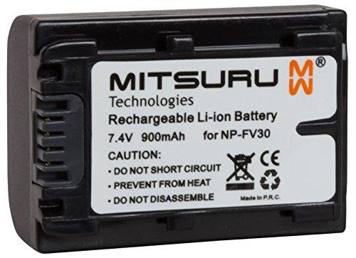 Mitsuru 7 Wh 7.4 V Original Akku für Sony Camcorder HDR-CX120 HDR-CX12E. Ersetzt: NP-FV30