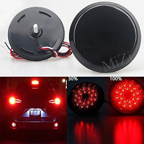 BEESCLOVER, Set di luci a LED per paraurti Posteriore Auto per Scion xB IQ Toyota Sienna Corolla Nissan Qashqai