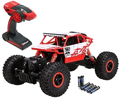 Top Race tr-1302,4GHz Batterien, Fernbedienung, Rock Crawler/Monster Truck 4WD/Off Road, Fahrzeug Spielzeug - 2