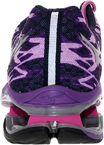 Mizuno Wave Creation 15 Synthétique Chaussure de Course Light purple-Grey-Purple