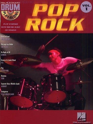 Drum Play-Along Volume 1: Pop Rock. Für Schlagzeug