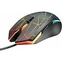 Trust GXT 170 Heron Mouse da Gioco LED RGB con Sensore Ottico Avanzato