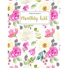Monthly Bill Planner and Organizer: budgeting work book   3 Year Calendar 2020-2022 Bill Planner Sheets   Weekly Expense Tracker Bill Organizer ... Gift for Mom (Financial Planner Budget Book)