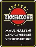 Zickenzone , 17x22