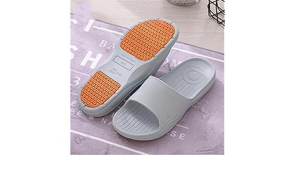 Männer Bad Hausschuhe Dusche Rutschfeste Hausschuhe Home Bad Undichte Kühle Sandalen , B , 40-41
