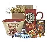 Harry Potter Hogwarts Gift Set with Breakfast Bowl, Mug,...