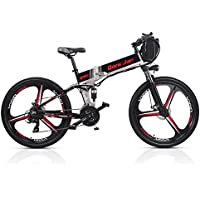 SHARMA NIA M80 21 Vitesses Pliant la Bicyclette 48V * 350W 26 Pouces électrique vélo de Montagne Double Suspension avec l'affichage à LED 5 pédale Aider