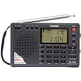Radar® TECSUN PL-380 Radio Digital PLL Portable Radio FM Stereo/LW/SW/MW DSP Receiver (Black)