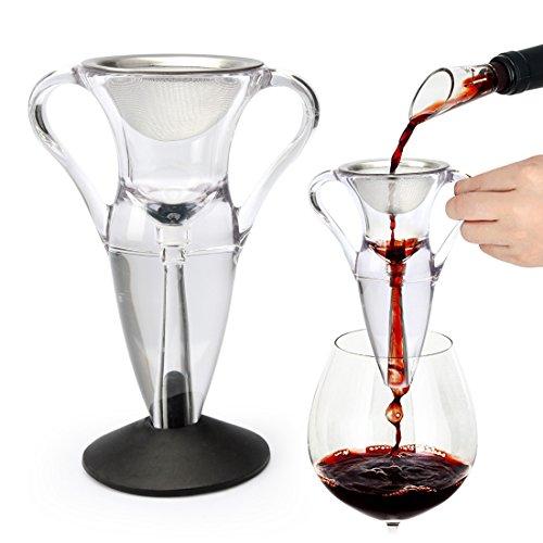 Yobansa aeratore/decantatore magico per vino rosso, attrezzo premium di lusso per bar, elegante regalo per tutte le occasioni style 6