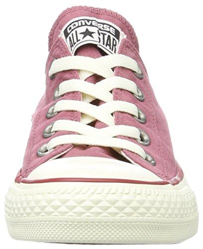 Converse Ctas Ox Port/Garnet/Egret, Sneaker Basse Unisex - Adulto Rot (Port/Garnet/egret)