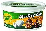 White Crayola Air Dry Clay 2.5 Pound Tub 57-5050