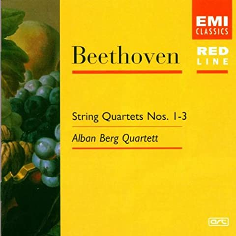 String Quartets 1, 2 & 3, Op.