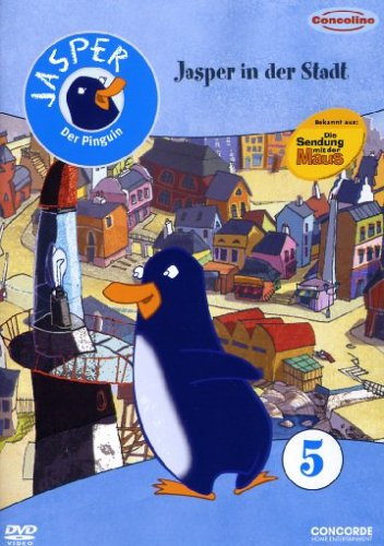 Jasper, der Pinguin 5 - Jasper in der Stadt