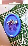 1 Stück Magnet - Nadelkissen WEIß
