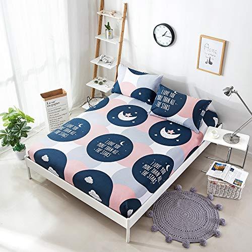 zelstück Baumwolle Baumwolle 1.8m Bettdecke 1.5m Bettdecke Bettgarnitur Bettgarnitur Matratze Set Custom Month Love 150x200cm ()