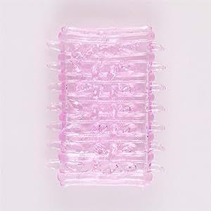 Femme Masturbation Silicone Vibromasseur G-spot jouets stimulation de massage pour adultes Chenilles Adult Toys Transparent Collar Thorn