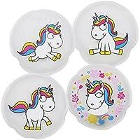 com-four® 4X Taschenwärmer Comic Unicorn in Verschiedenen zauberhaften Einhorn Designs preisvergleich bei billige-tabletten.eu