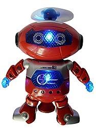 Toller Spielzeug-Roboter mit Lauffunktion. Ein großer Spaß für die Kleinen. Dieser tolle High-Tech-Roboter hat folgende Funktionen: Er kann laufen, leuchtet und erzeugt Töne. Sie benötigen für den Gebrauch des Artikels noch folgende Batterien, die ni...