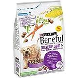 Purina Beneful Hundetrockenfutter Glückliche Jahre 7+ mit Huhn, Gartengemüse & Vitaminen, 3 kg Beutel, 2er Pack (2 x 3 kg)
