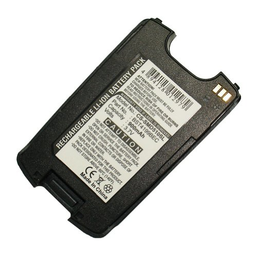 Bluetrade High-End Lithium-Ionen-Batterie (900 mAh) für Samsung SGH-D510/SGH-D518/blau