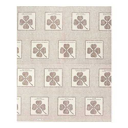 8 Wenko Dunst-Flachfilter, je 57x47 cm, inkl. 4 Paar Einmalhandschuhe, mit Sättigungsanzeige, biologisch abbaubar, für alle gängigen Abzugshauben