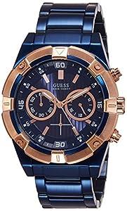 Guess W0377G4 - Reloj de lujo para hombre, color azul de Guess