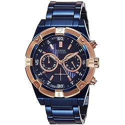 Guess W0377G4 - Reloj de Lujo para Hombre, Color Azul