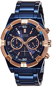 74c7572c42547 Guess Chronograph Blue Dial Men's Watch - W0377G4