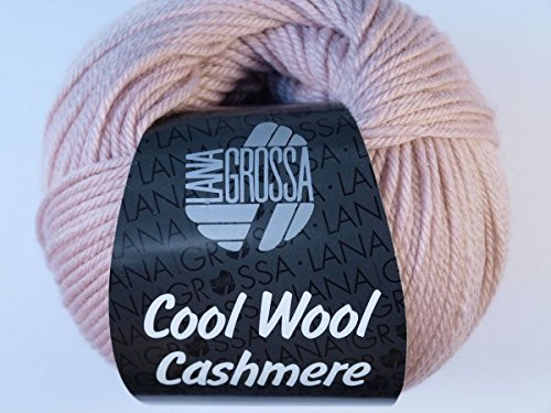 Lana Grossa Cool Wool Cashmere 017 Puderrosa 50g (Wolle 10% Cashmere)