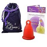 Me Luna Menstrual Taza Classic, Anillo, Rojo, tamaño L