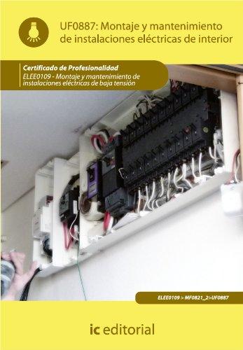 Montaje y mantenimiento de instalaciones eléctricas de interior por Irene Calle Millán