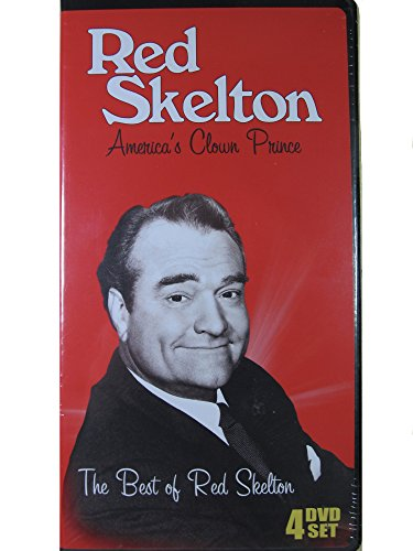 The Best of Red Skelton: America's Clown Prince: 4 DVD Set