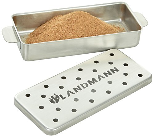 Landmann selection Räucherbox, silber